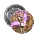 Paraguas púrpura pins