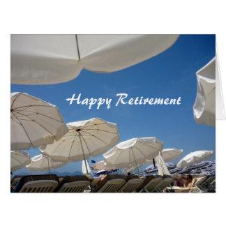 paraguas reservados grandes tarjeta de felicitación grande