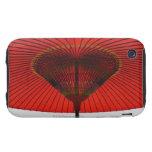 Paraguas rojo 2 carcasa resistente para iPhone