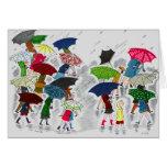 Paraguas Tarjeta