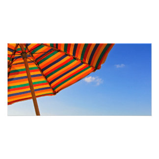 paraguas tarjetas fotograficas personalizadas