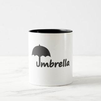 Paraguas Taza De Dos Tonos