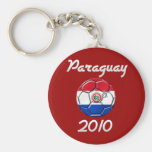Paraguay 2010 keychain