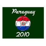Paraguay 2010 postcard