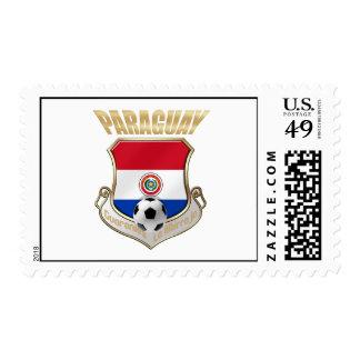 Paraguay 2010 presentes del futbol del fútbol del sellos