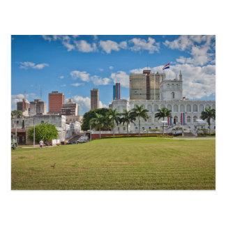 Paraguay - Asunción - Downtown Postcard