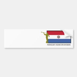 Paraguay Asuncion Mission LDS CTR Car Bumper Sticker