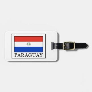 Paraguay Bag Tag