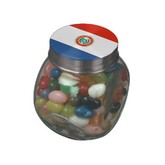 Paraguay Jelly Belly Candy Jar