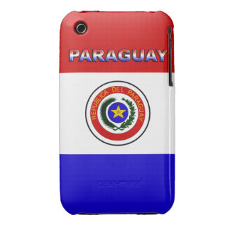 Paraguay Case-Mate iPhone 3 Case