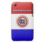 Paraguay Case-Mate iPhone 3 Cárcasas