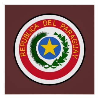 Paraguay COA Poster
