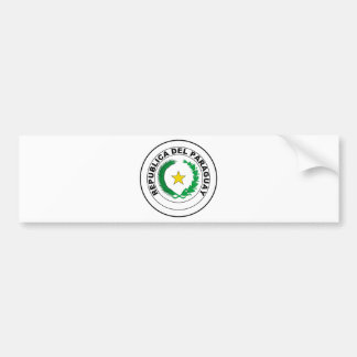 Paraguay Coat of Arms Bumper Stickers