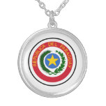 Paraguay Coat Of Arms Custom Necklace