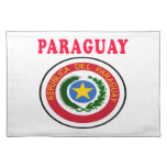 Paraguay Coat Of Arms Designs Placemat