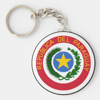 Paraguay Coat Of Arms Keychain