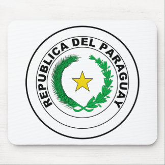 Paraguay Coat of Arms Mouse Pad