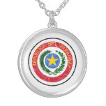 Paraguay Coat Of Arms Necklaces