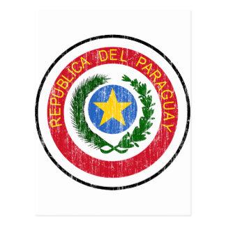 Paraguay Coat Of Arms Postcard