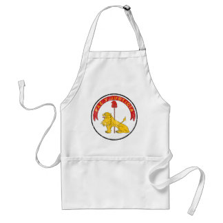 Paraguay Coat Of Arms Reverse Adult Apron