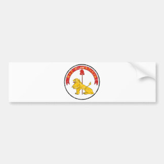 Paraguay Coat Of Arms Reverse Bumper Stickers