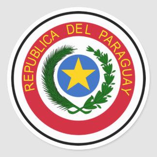 Paraguay Coat of Arms Sticker