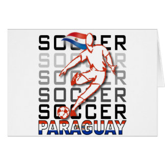 Paraguay Copa America 2011 Greeting Cards