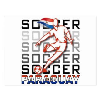 Paraguay Copa America 2011 Postcard