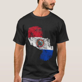 Paraguay Distressed Flag T-Shirt