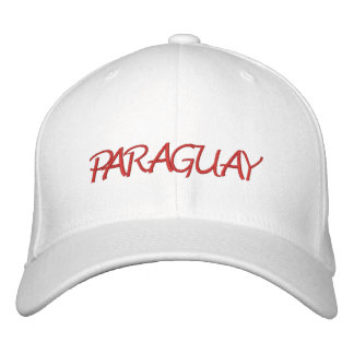 Paraguay Embroidered Baseball Cap