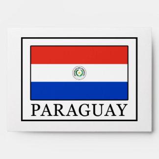 Paraguay Envelope