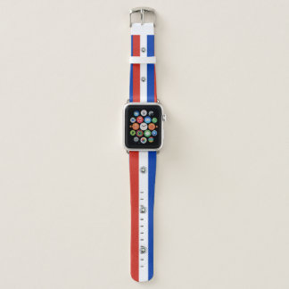Paraguay Flag Apple Watch Band