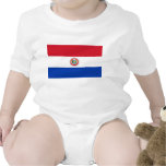 Paraguay Flag Baby Creeper