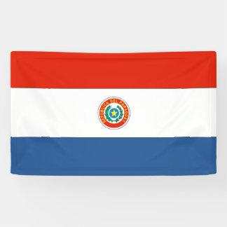 Paraguay Flag Banner