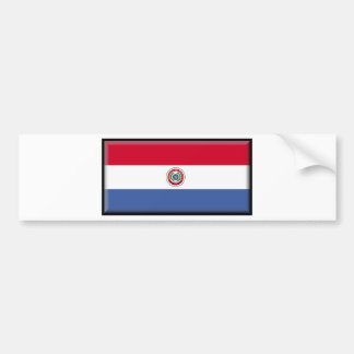 Paraguay Flag Bumper Stickers