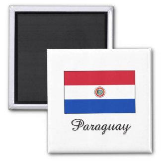 Paraguay Flag Design Magnet