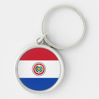 Paraguay Flag Keychain