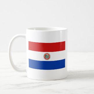 Paraguay Flag Map Mug