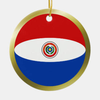 Paraguay Flag Ornament