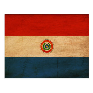 Paraguay Flag Postcards