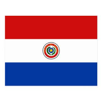 Paraguay Flag Postcard