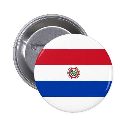 Paraguay Flag Products Pins