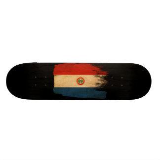 Paraguay Flag Custom Skateboard