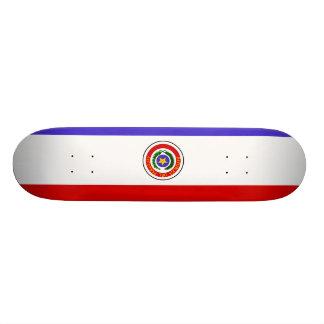 Paraguay Flag Skateboard Deck