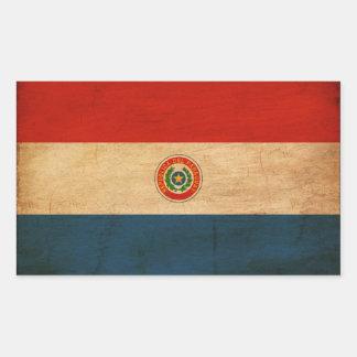 Paraguay Flag Rectangular Sticker