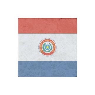 Paraguay Flag Stone Magnet