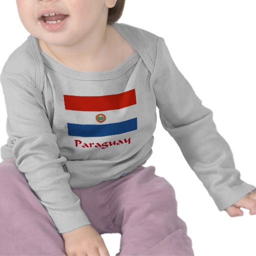 Paraguay Flag T Shirts