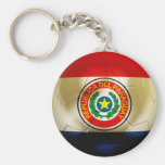 Paraguay Football Keychains