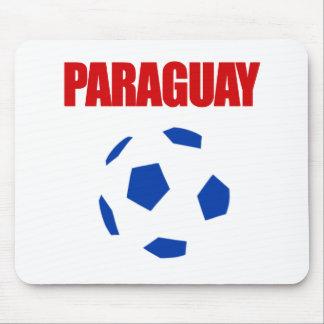Paraguay Football T-Shirts Mouse Pad