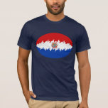 Paraguay Gnarly Flag T-Shirt